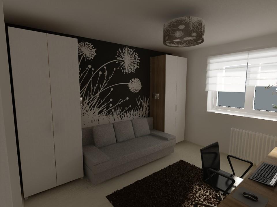 dormitor cu canapea 2