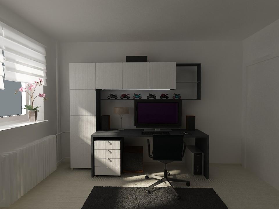 dormitor cu canapea C1