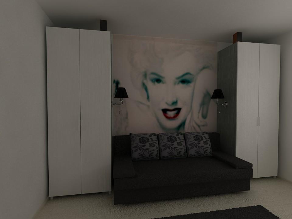 dormitor cu canapea C3
