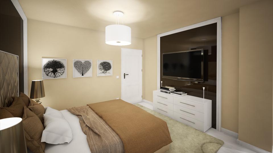 Dormitor Design Interior Apartament Craiova