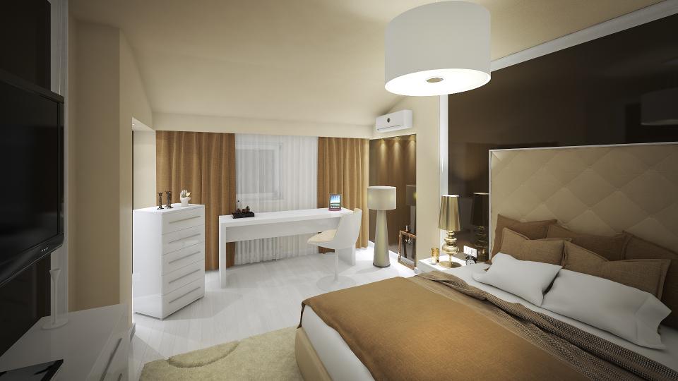 Dormitor Design Interior Apartament Craiova toaleta