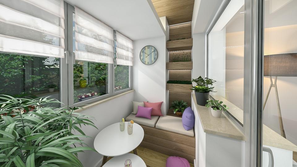 Desin Interior Craiova balcon relaxare